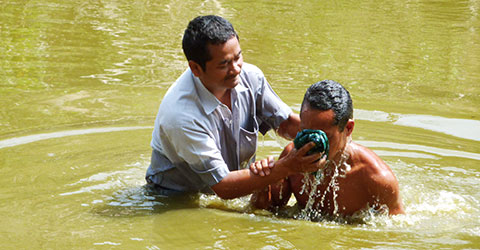 baptism in Bangladesh gospel outreach walla walla wa